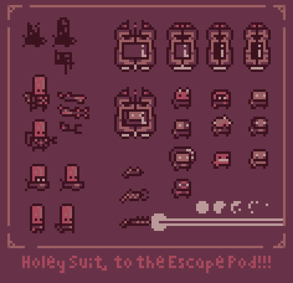Holey Suit Assets
